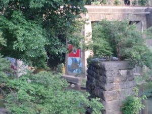 graffiti by the creek