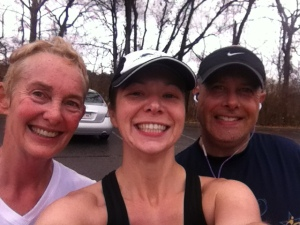 5 miles with Karen and Marc.