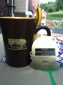 Back of the medal. And I definitely plan to make some hot chocolate in that mug!