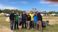 "Ragnar Atlanta Trail Team. ""Snow White and the Seven Trail Dudes"""
